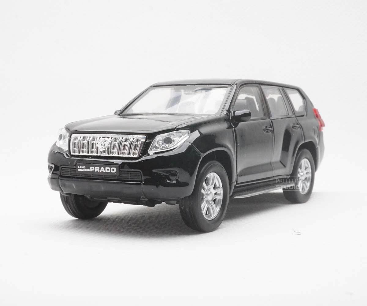 Welly Toyota Land Cruiser Prado Pullback 1/36 1/32 1/34 Diescat Car model Black