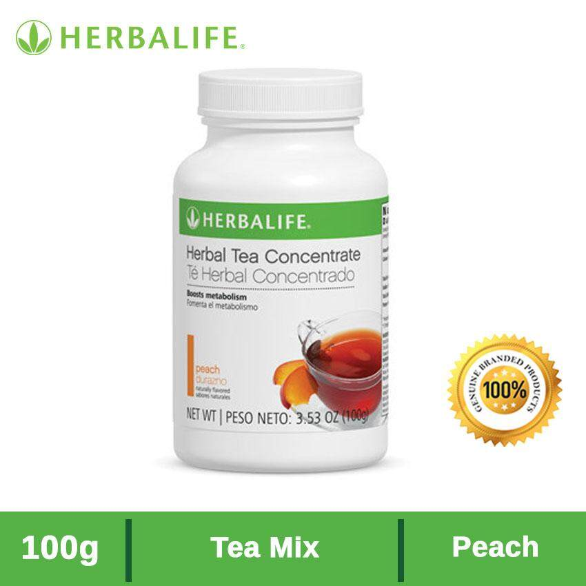 Herbalife TEA MIX  Peach - 100g  [Genuine]