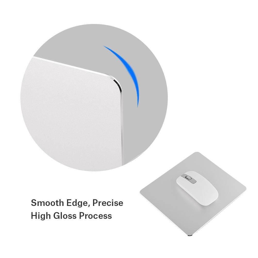 Gaming Mice - Aluminum Alloy Non-slip Gaming Mouse Pad aluminum mousepad - [BLACK / SILVER / GOLD]