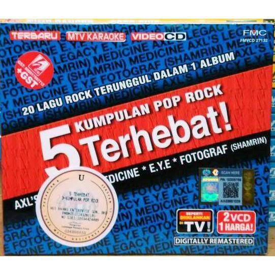 5 Kumpulan Pop Rock Terhebat AXL s LEGANCY MEDICINE E.Y.E 2VCD Karaoke b4abb1c4c2