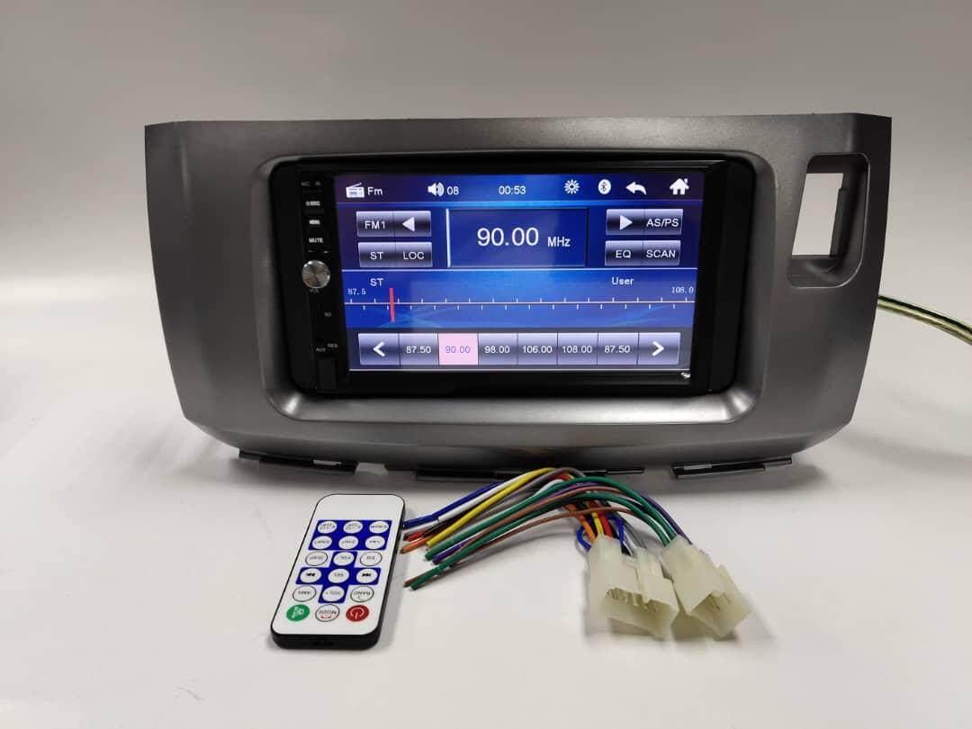 "Perodua Alza MP5 MONITOR 7"" Touchscreen Usb Bluetooth Radio Plug And Play (NO DVD)"
