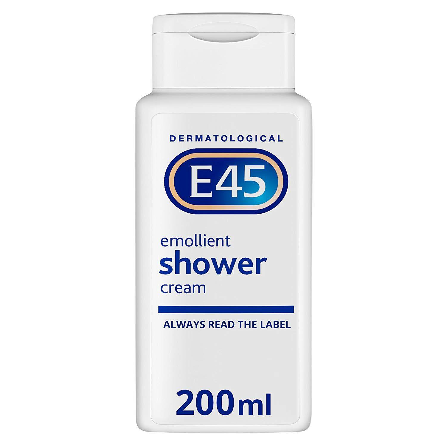 E45 Dermatological Emollient Shower Cream 200 ml