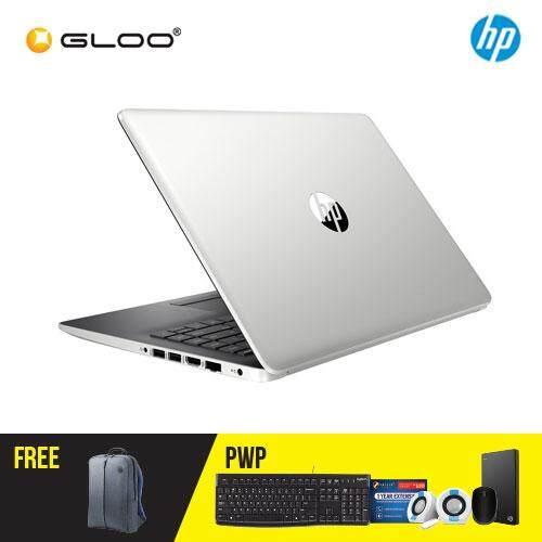 """NEW HP 14-cm0107au / 14-cm0108au 14"""" FHD Laptop (AMD Ryzen 5-2500U, 1TB, 4GB, AMD Radeon Vega 8, W10) - (Silver/Red) [FREE] HP Backpack"""