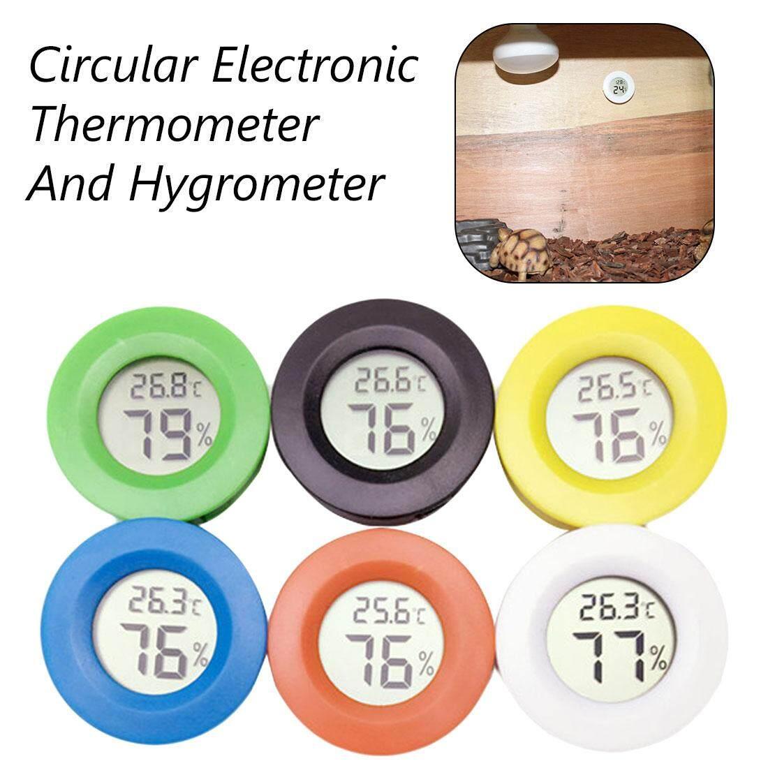 Detail Gambar Termometer Digital Mini Higrometer Kulkas Freezer Pengukur Temperatur Kelembapan Pendeteksi LCD Terbaru