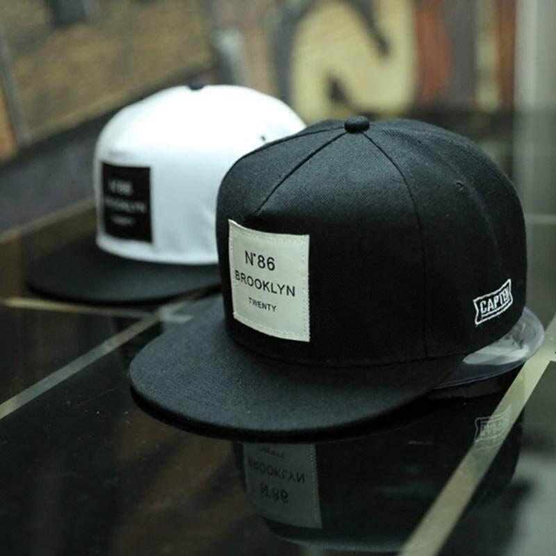 ใหม่ผู้หญิงผู้ชาย BROOKLYN ตัวอักษรสีทึบ Patch หมวกเบสบอลหมวก Hip Hop หมวก wenfengzhi