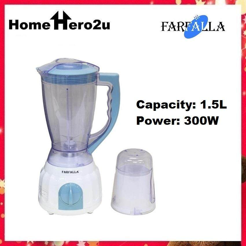 Farfalla FBG-9318 Blender with Coffee Grinder 1.5 Liter - Homehero2u