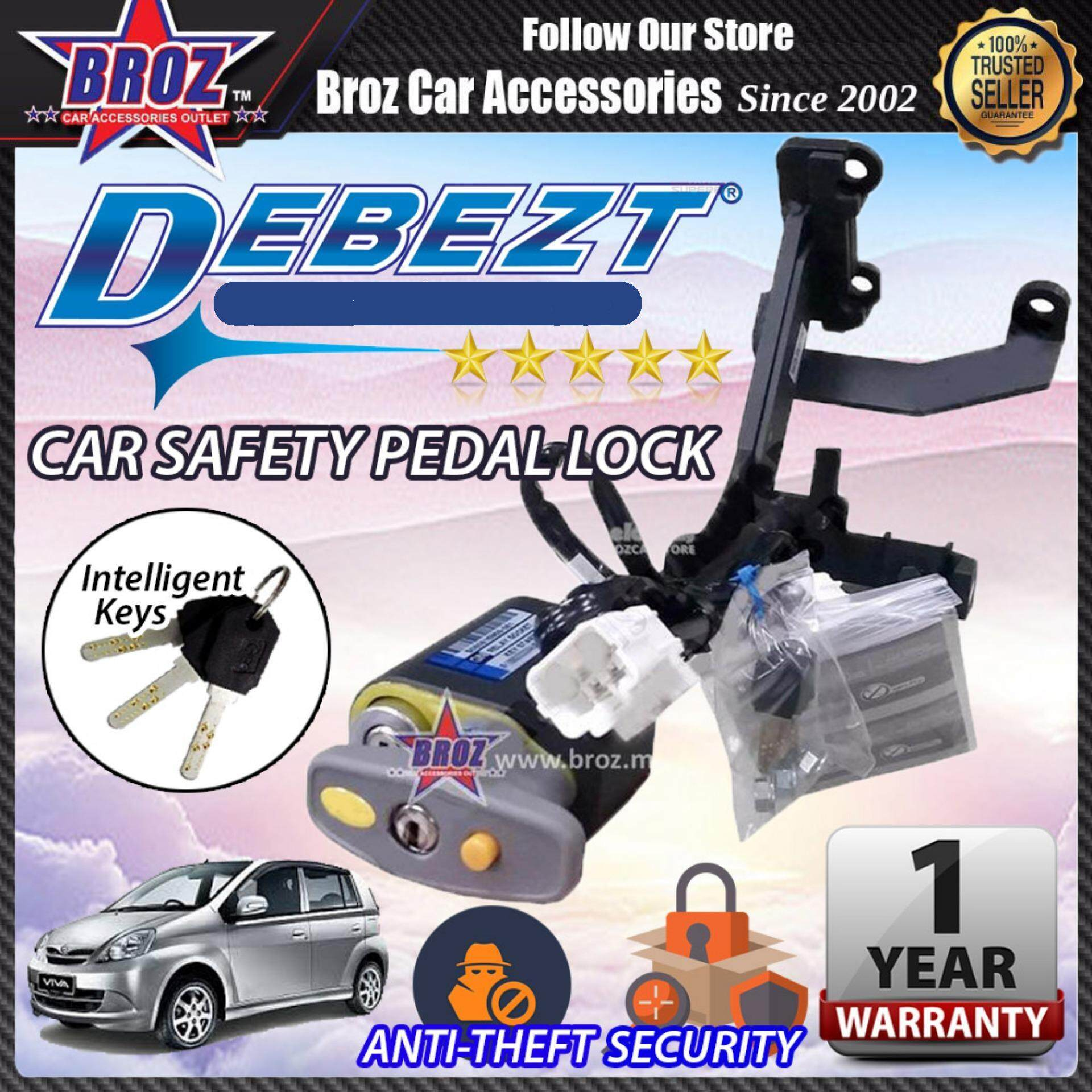 Viva 2007-2012 Debezt Auto/Manual Key Start Anti Theft Double Pedal Lock