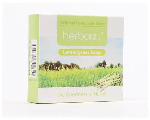 1pc, 5pcs, 10pcs or 20pcs Lemongrass Handmade Soap 55g each (expiry 13Dec2019) - 20 pcs