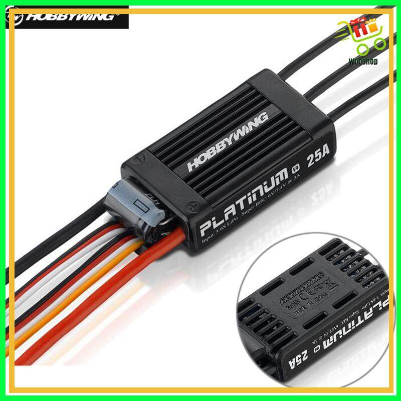 Hobbywing Platinum 25A V4 Brushless Electronic Speed controller ESC for RC  Drone