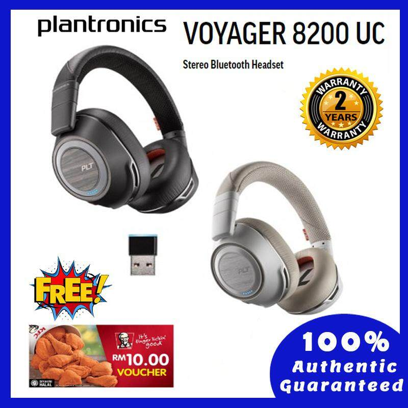 Plantronics Voyager 8200 UC, White, BT600-C, WW (2 Years Warranty)