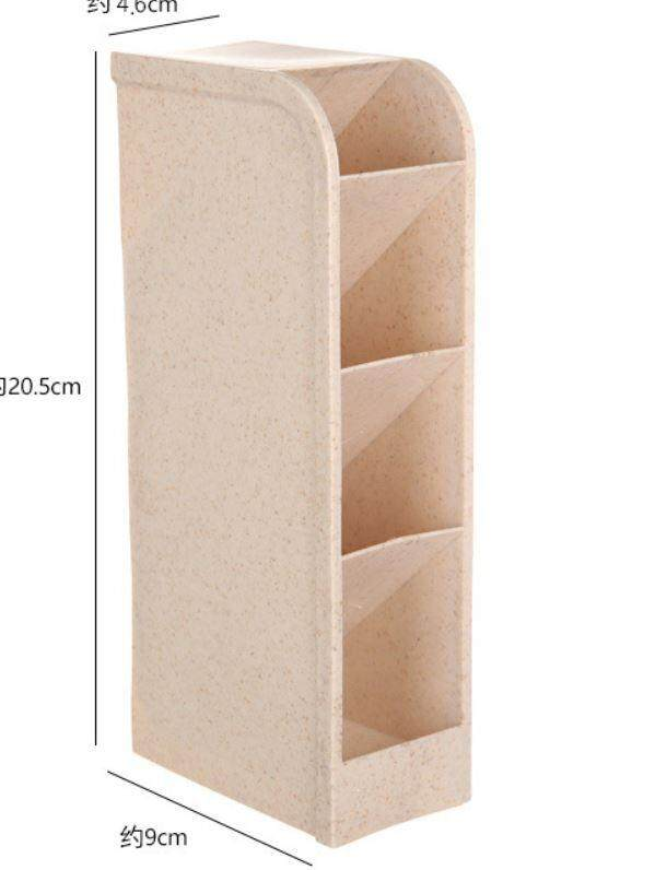Multi-use Colourful 4 Compartment Plastic Storage Box ACC-003