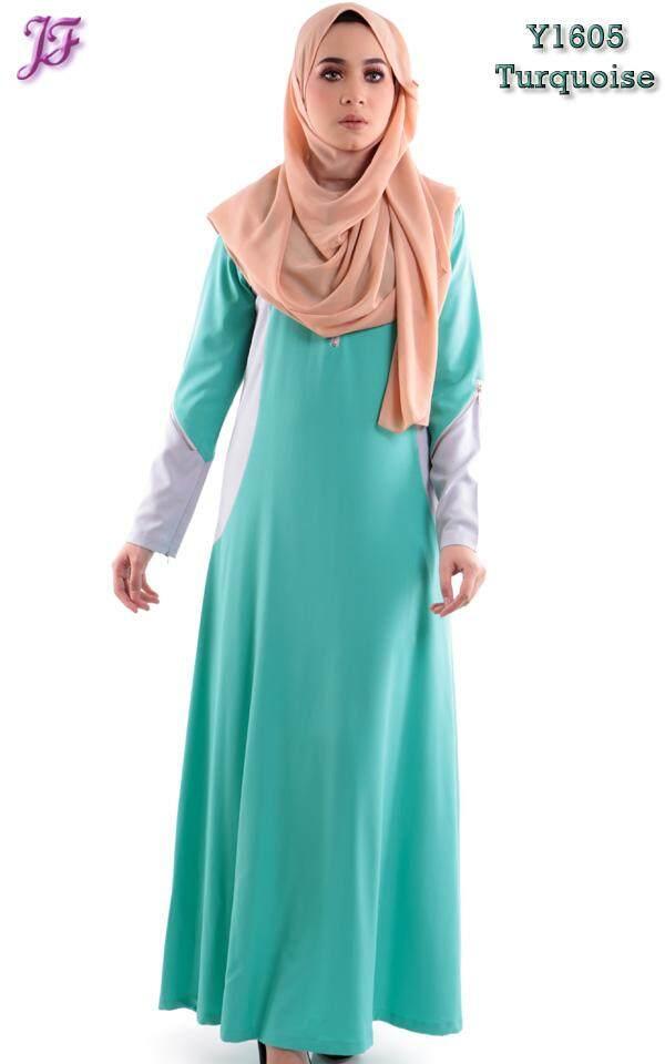 JF Fashion Aisha Zipper Dress with Pocket Y1605