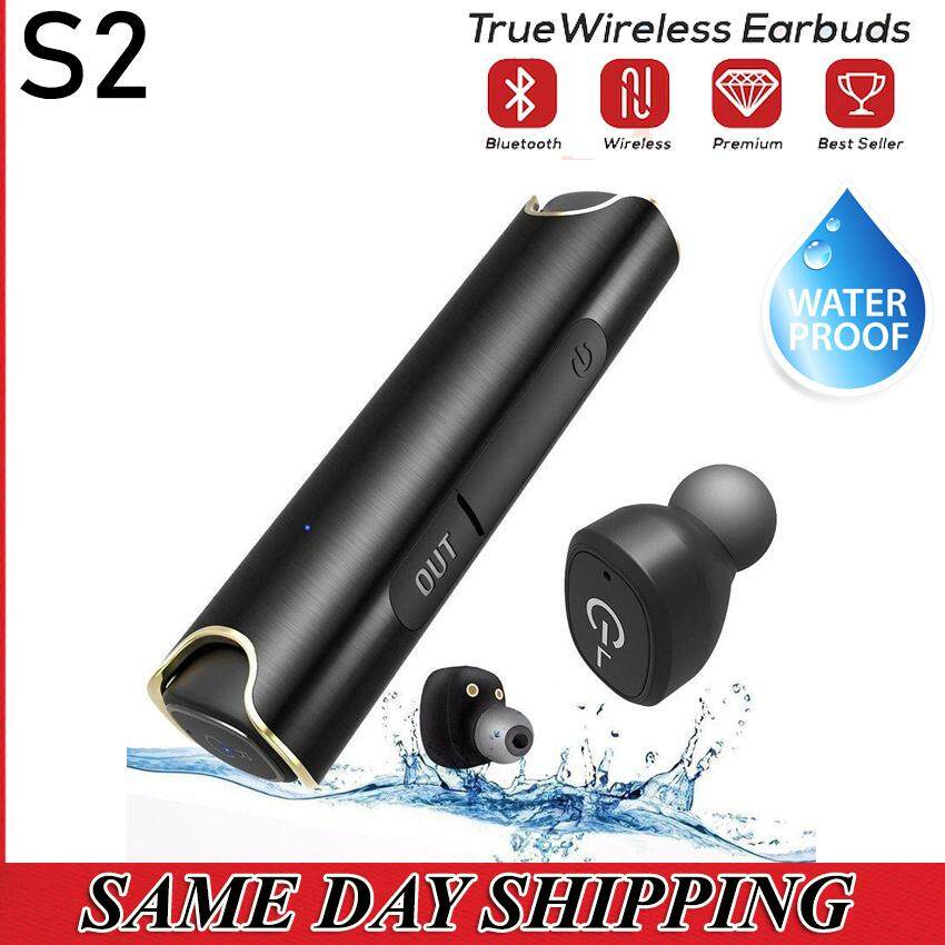 S2 True Wireless Stereo Magnetic Charging Earbuds Earphone [READY STOCK - LOCAL SELLER]