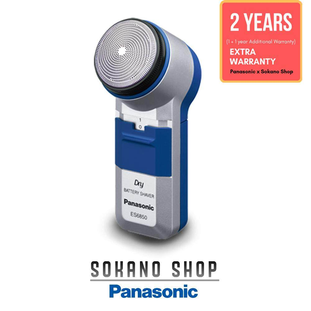 Panasonic ES6850SP Battery Operated Compact Shaver Spinnet