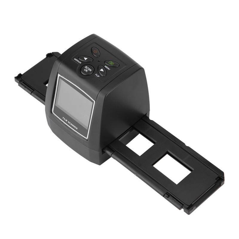 Scanners - LCD Screen 5MP/10MP USB 135/35mm Negative Film Scanner Support SD MMC Card