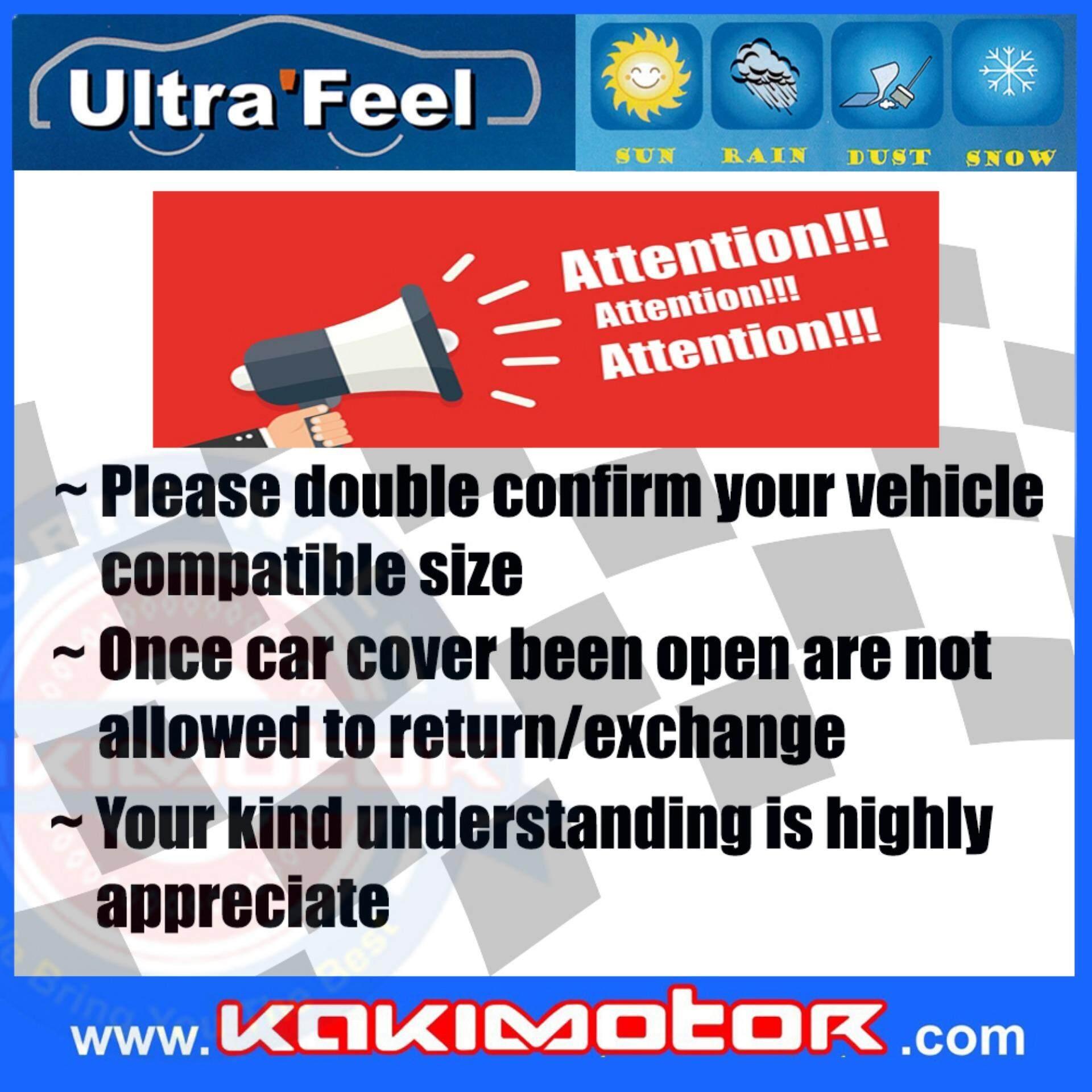 [KOREA] ULTRAFEEL CAR BODY COVER MPV3 FOR ALPHARD/VELLFIRE & SIMILAR VEHICLE