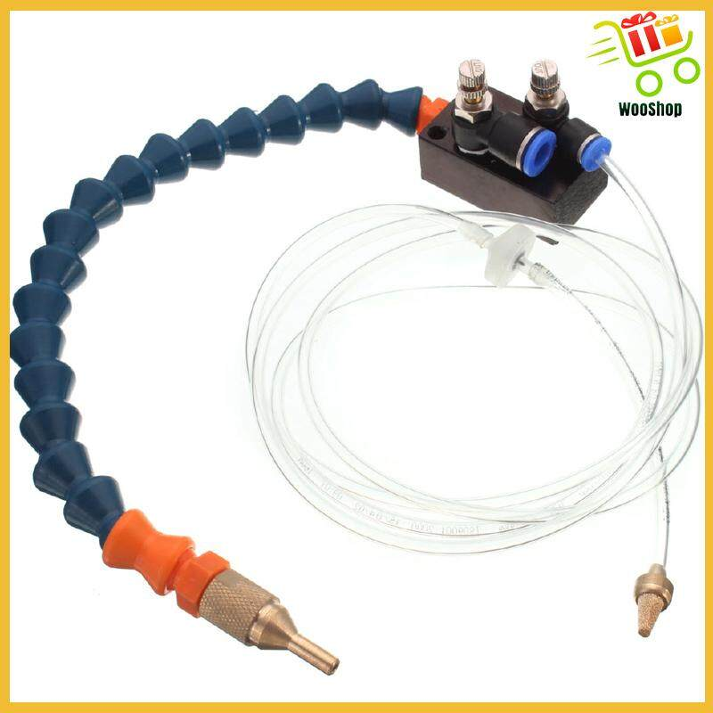 Mist Coolant Lubrication System Spray for 8mm Air Pipe CNC Lathe Milling Machine