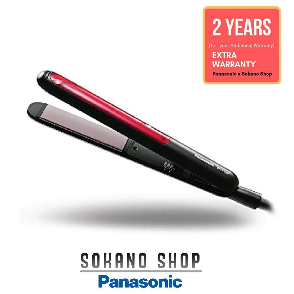 Panasonic EH-HV20-K 2 Way Straight & Curl Hair Straightener