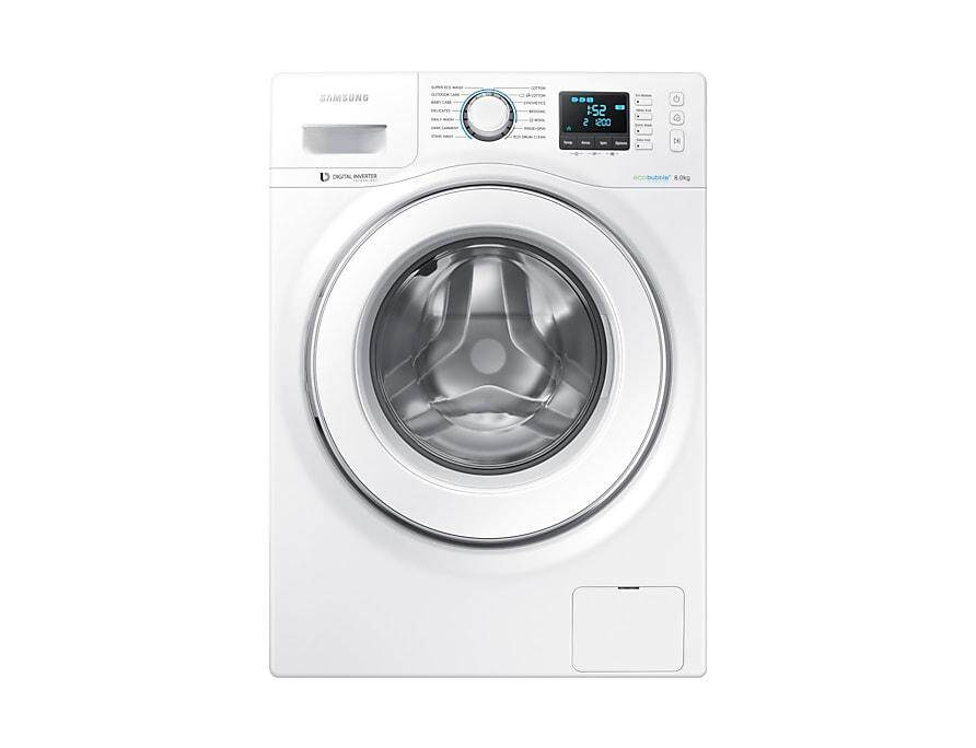 SAMSUNG FULLY AUTO WASHING MACHINE (8KG)WW80H5400EW/FQ
