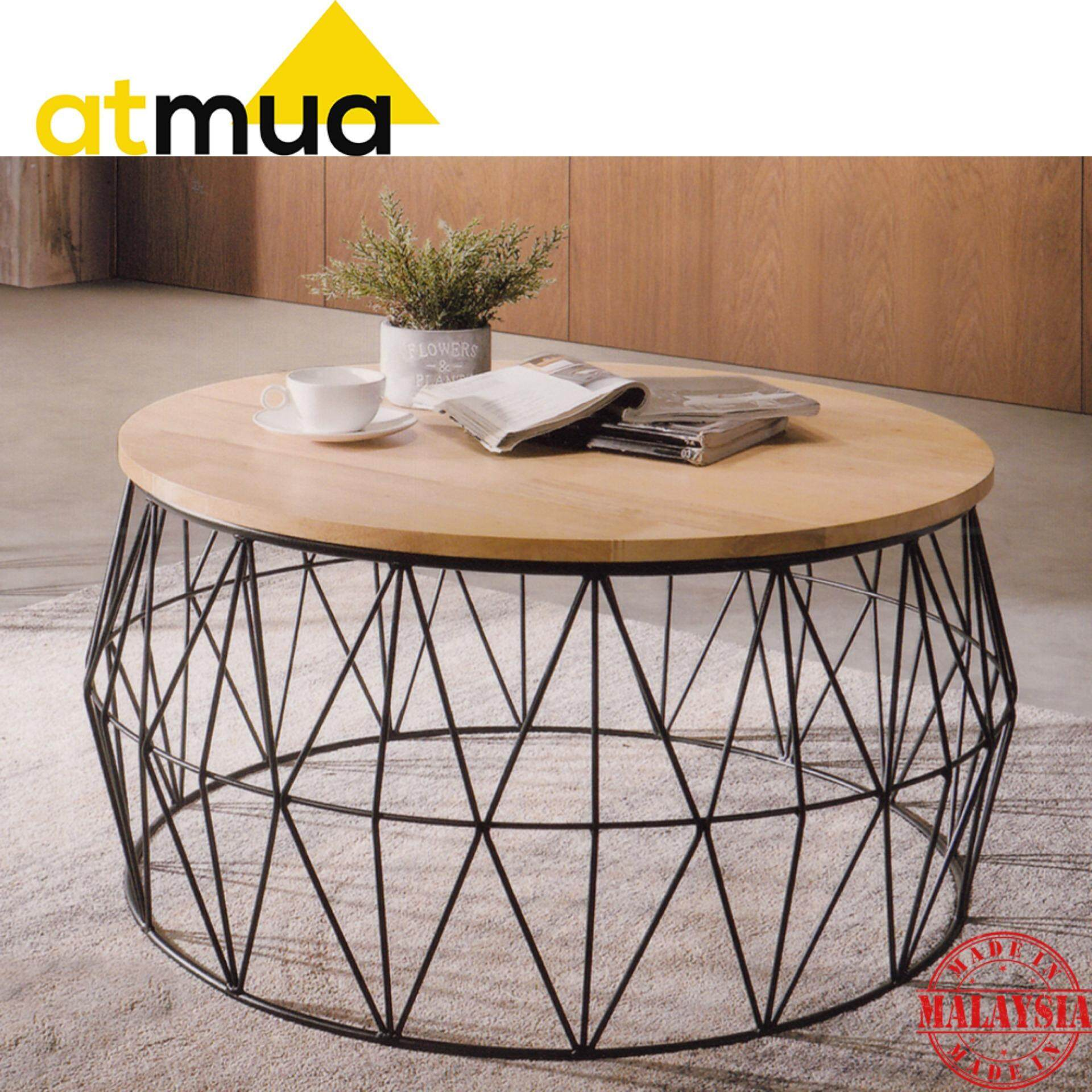 Greenwich Round Coffee Table Choice Of Size: Home Coffee Table Online In Malaysia