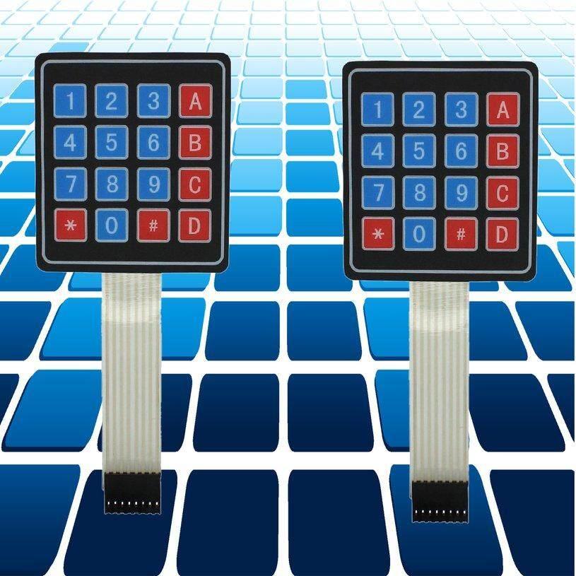 Review Xin 2 Pcs 4x4 Matrix Array 16 Kunci Keypad Tombol