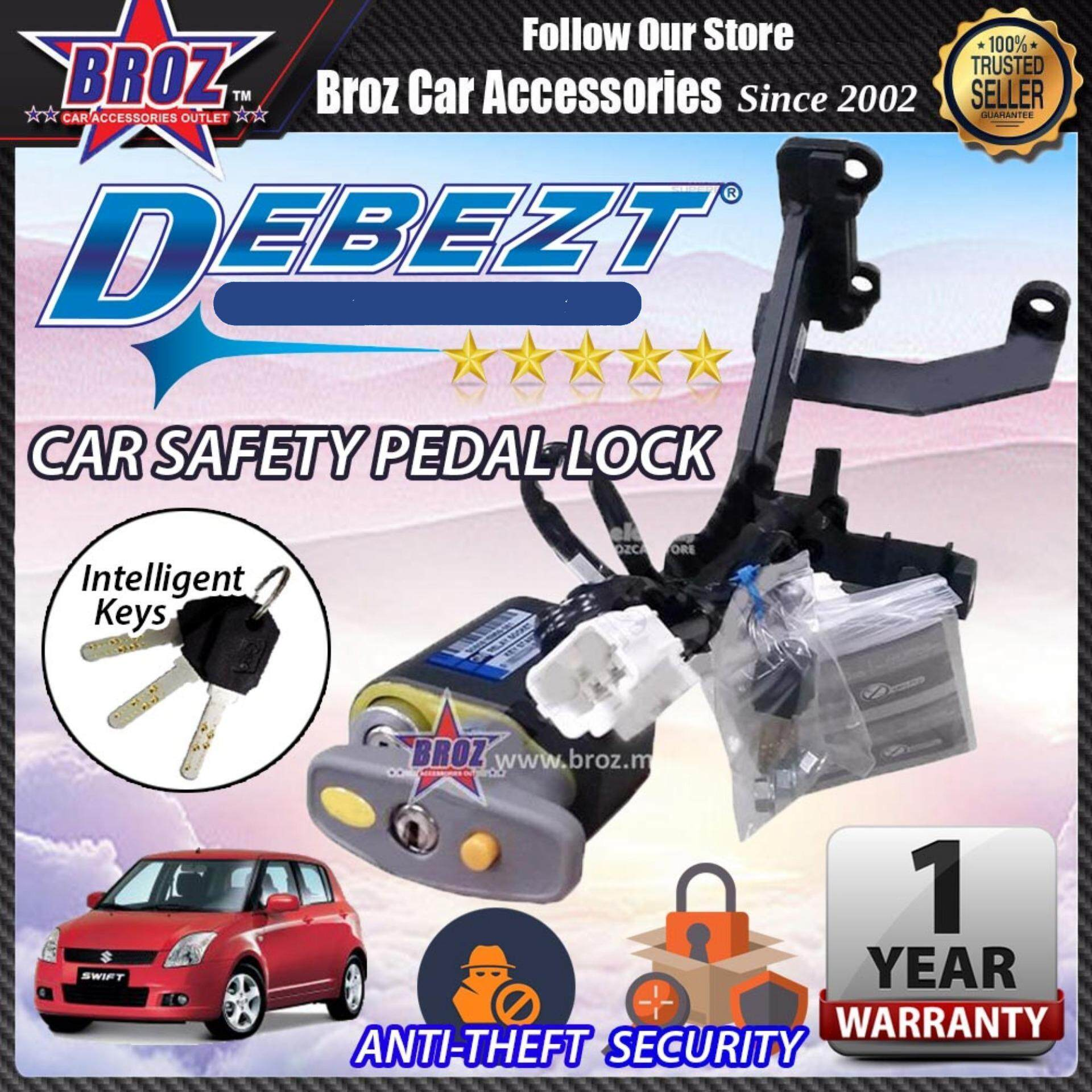 Swift 2005-2012 Debezt Auto Key Start Anti Theft Double Pedal Lock