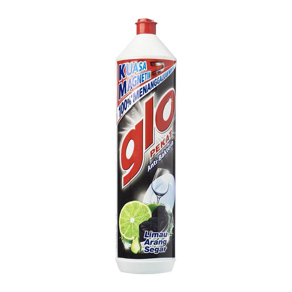 Glo Pekat Lime Charcoal Dishwashing Liquid 900ml