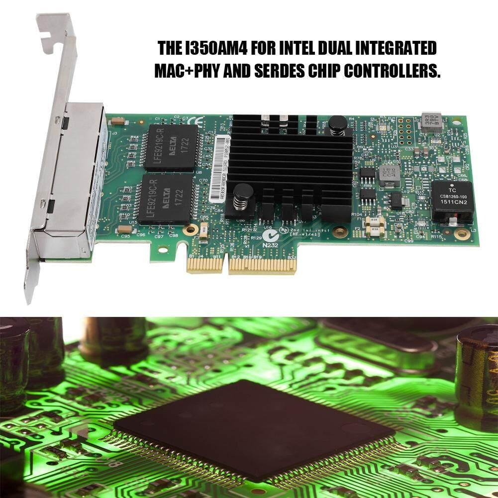 Network Components - Gigabit intel NIC 10mbps/100mbps/1000mbps for Card LAN  PCI-Ex4 Network i350-T4V2