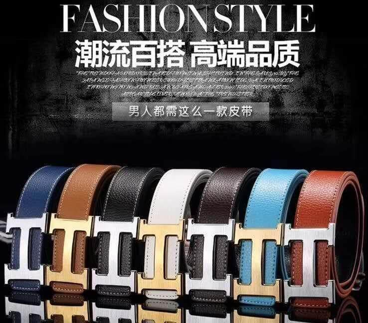 [M'sia Warehouse Direct] 100% Cowhide Leather Belt 2019 Brit...