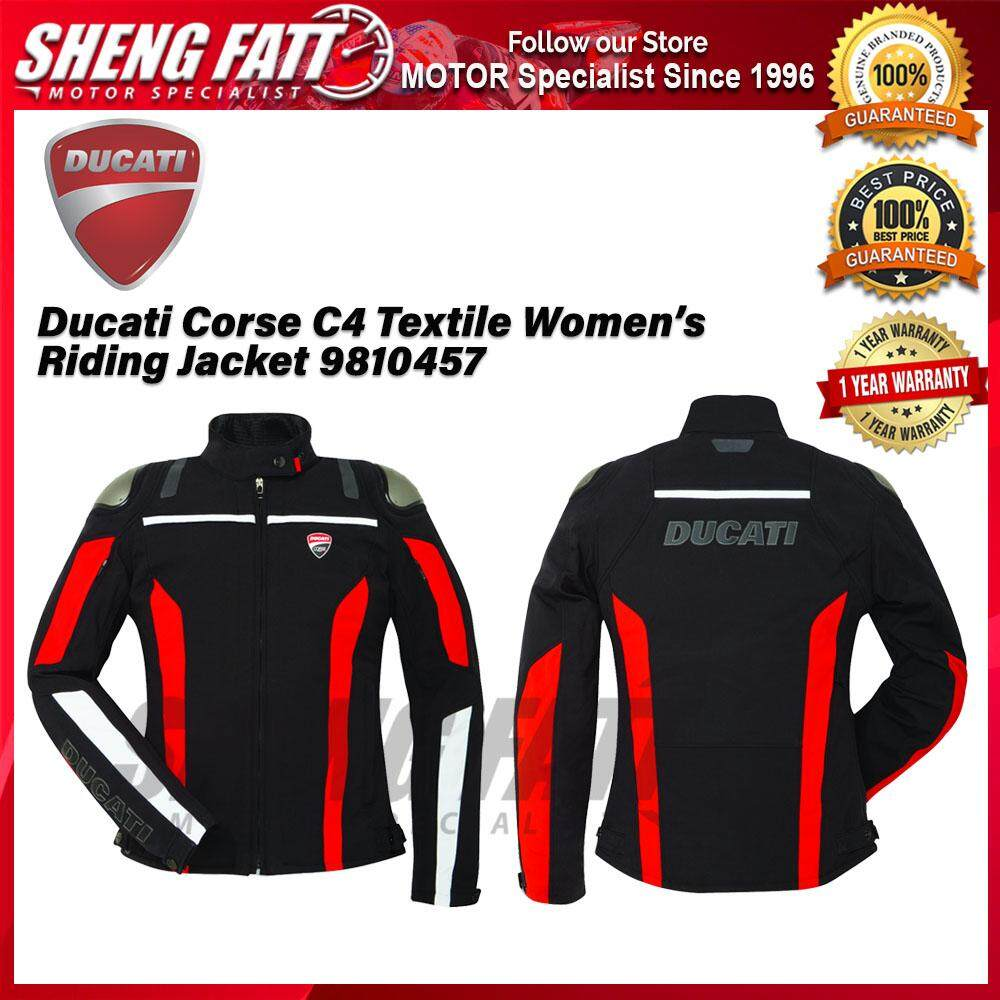 Ducati Corse C4 Textile Women's Riding Jacket 9810457 - [ORIGINAL]
