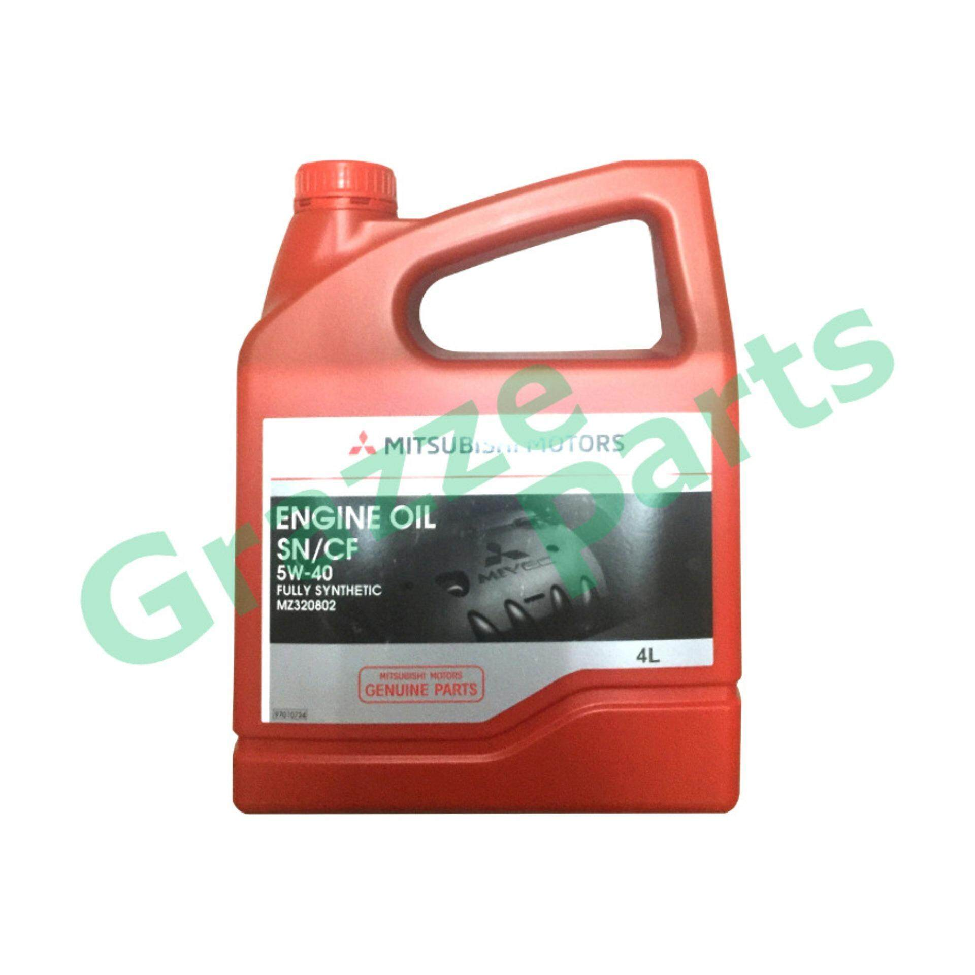 Mitsubishi 5W40 Fully Synthetic SM/CF Engine Oil 4 Litres