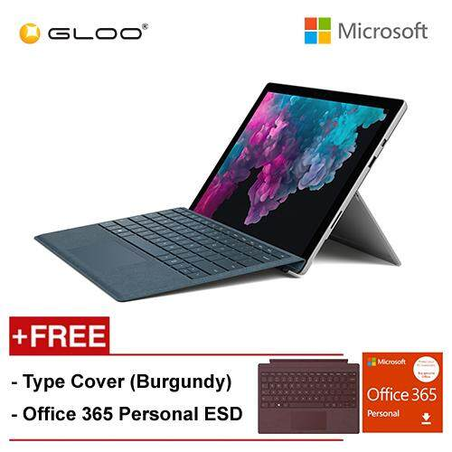 NEW Microsoft Surface Pro 6 Core i7/8GB RAM - 256GB + Type Cover Burgundy + Office 365 Personal