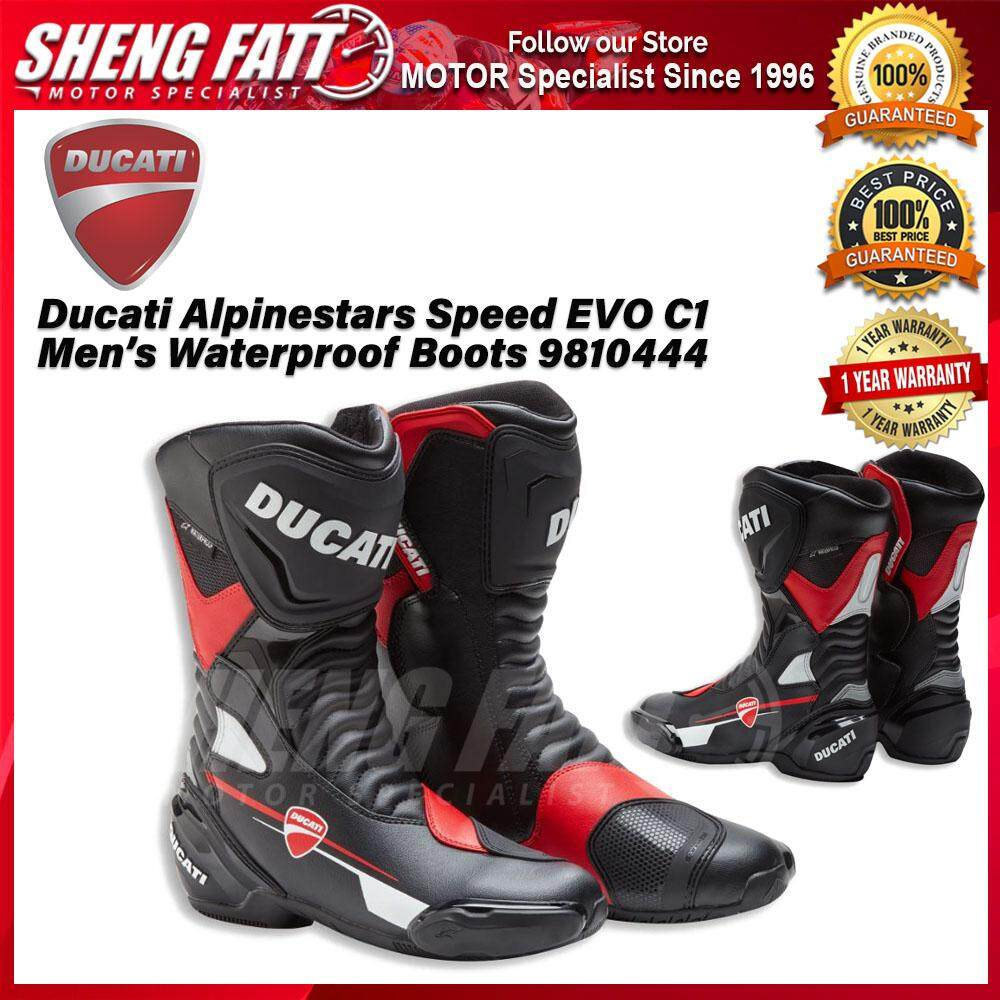Ducati Alpinestars Speed ​​EVO C1 Men's Waterproof Boots 9810444 - [ORIGINAL]