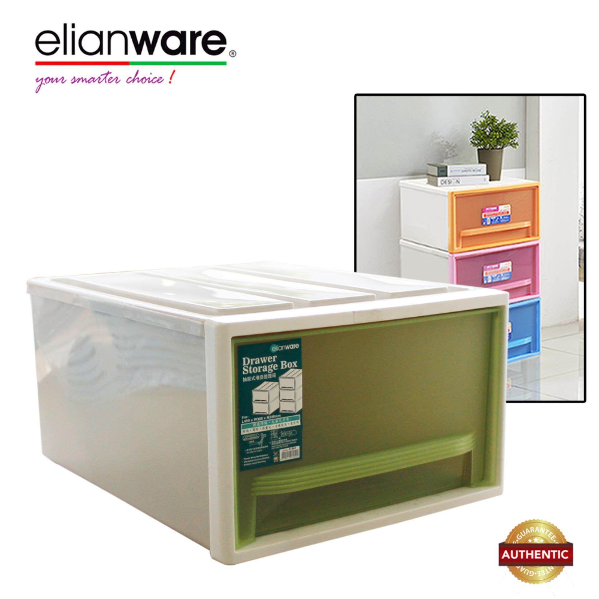 Elianware Signature Large Stackable Drawer Storage Box