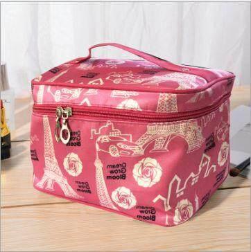 Cosmetic bag simple portable multi-function storage bag cute net red large capacity wash bag Korea large waterproof marykay