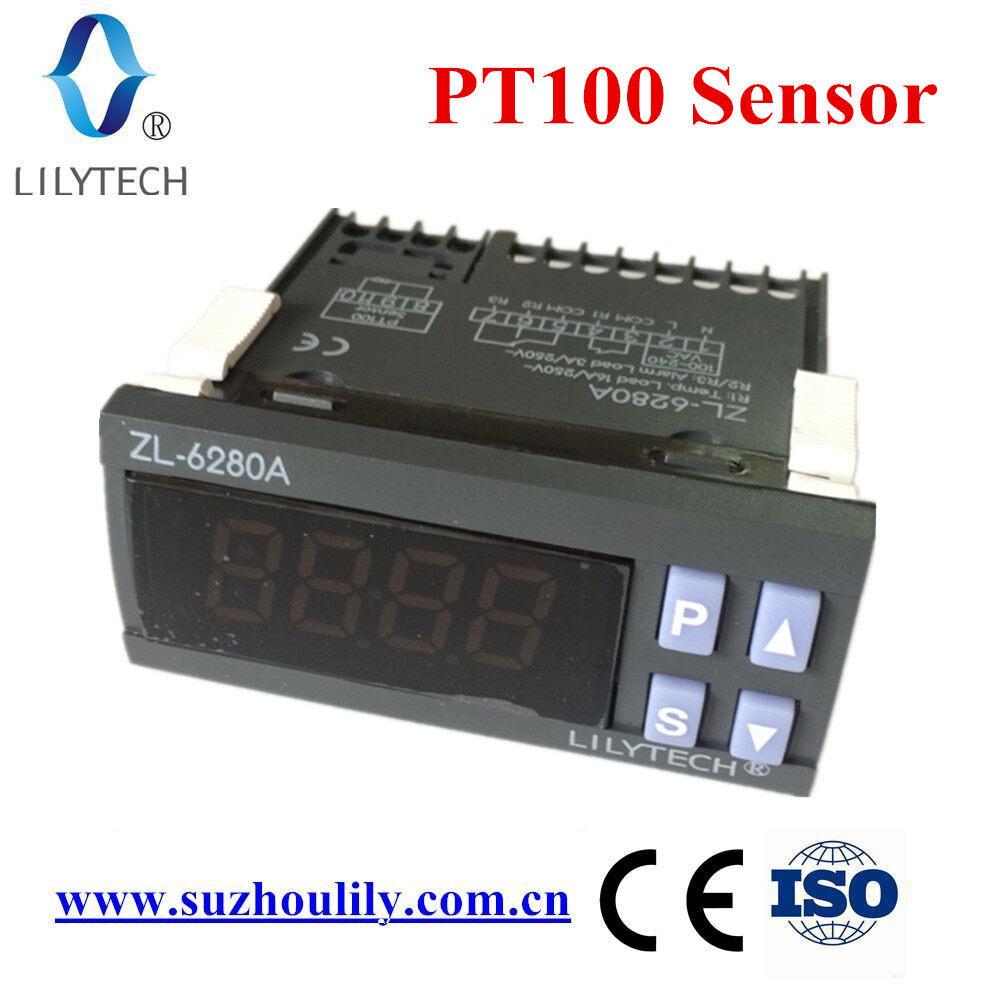 ZL-6280A, 400C, 16A, PT100, Điều Khiển Nhiệt Độ, Bộ Điều Nhiệt PT100, Bộ Điều Nhiệt Kỹ Thuật Số Nhiệt Độ Cao, Lilytech