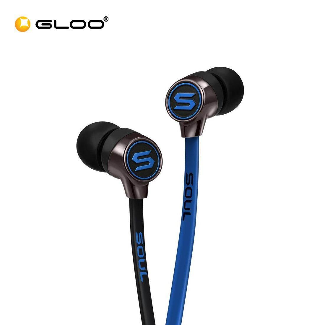 Soul Mini In Ear-Headphone (Chrome/Red/Blue)