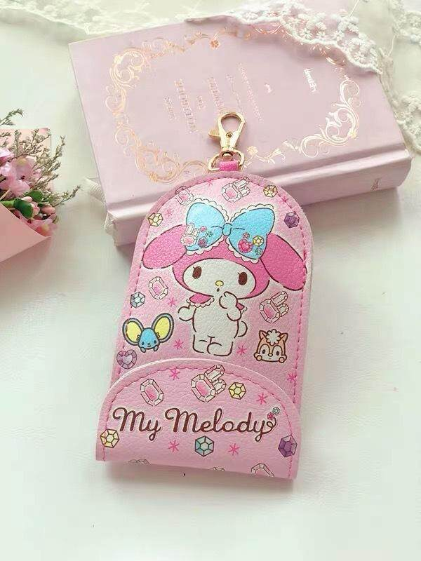 Hello Kitty Cute Keychain Key Chain Cover Access Card Touch n Go Cover