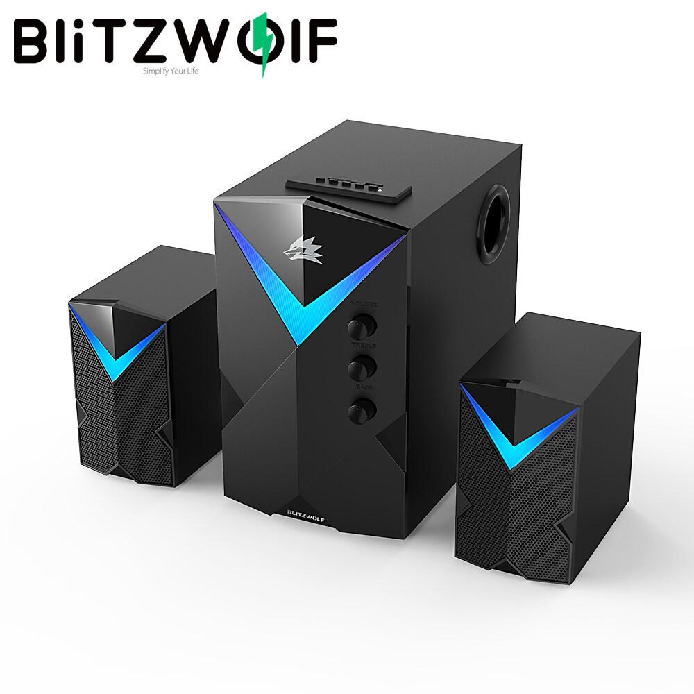 BW-GT2 BlitzWolf Loa Kết Hợp Chơi Game Trên Máy Tính 2.1 Kênh 20W Với Ánh Sáng Chói