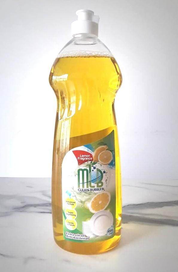 MLB Clean Bubbles Dishwashing Liquid 1 Liter Lemon Fragrance