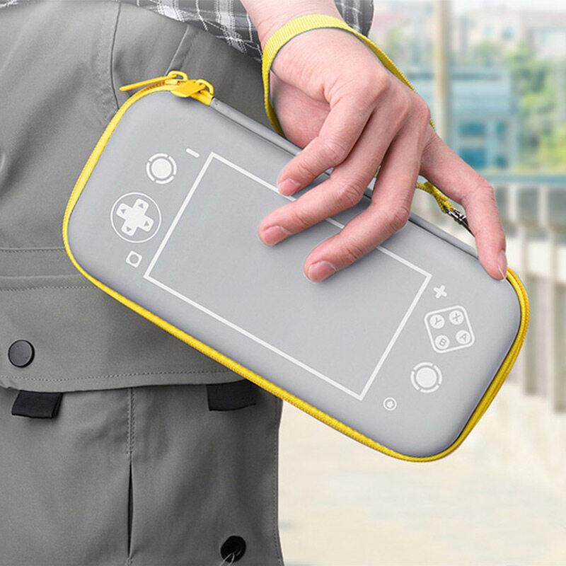 Hình ảnh Công Tắc Di Động Lite Túi Du Lịch Chống Nước Vỏ Bọc Cứng NS Hộp Đựng Trò Chơi Mini Cho Phụ Kiện Bộ Chuyển Đổi Nintendo Lite