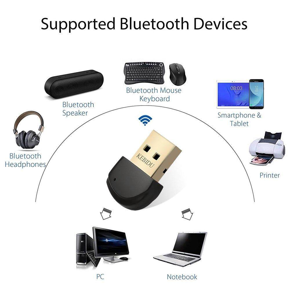 WIRELESS USB BLUETOOTH 5.0 Adapter Dongle Music Sound Receiver For Computer PC