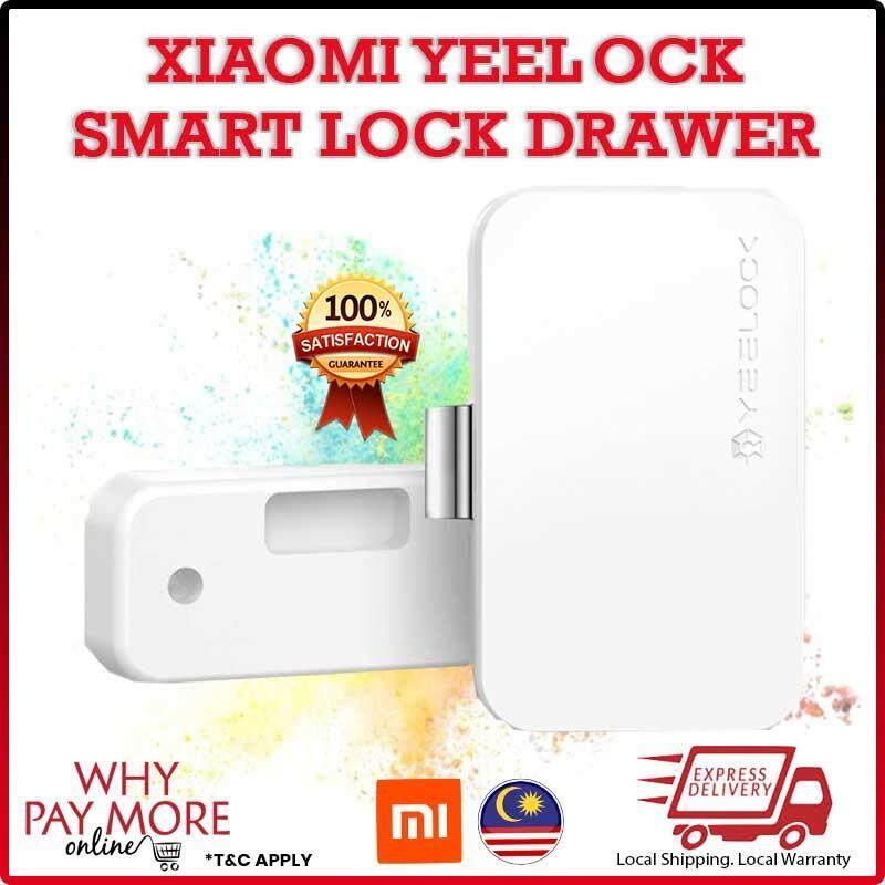 [READY STOCK]Xiaomi Yeelock Smart Drawer Cabinet Lock Keyless Bluetooth App Remote Switch Xiao Mi