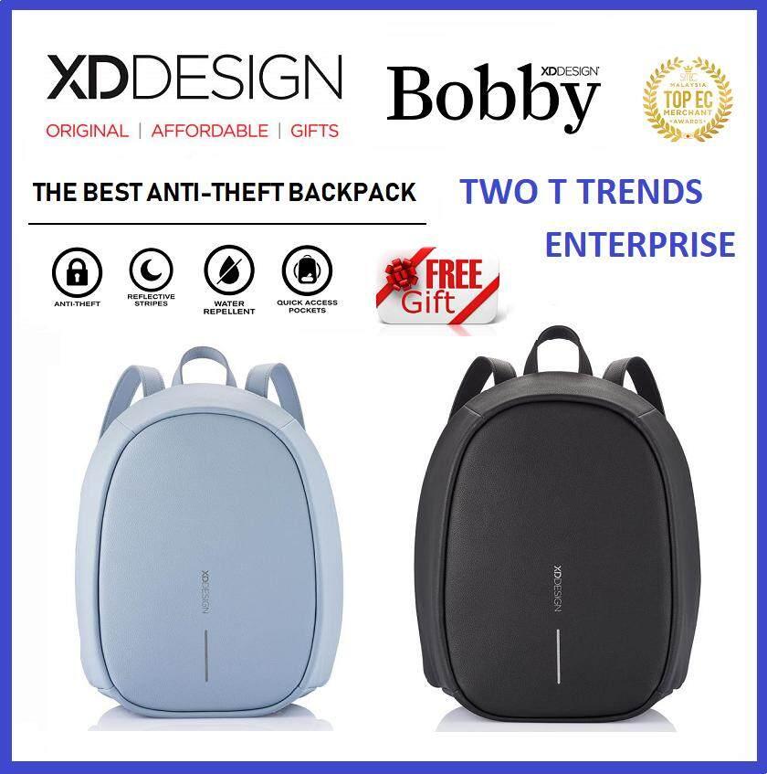 (PROMO) XD Design Bobby Elle Bag FREE PopSocket Best Anti-theft Backpack XDDesign Travel ORIGINAL