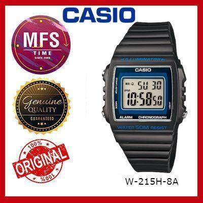(2 YEARS WARRANTY) CASIO ORIGINAL W-215H SERIES STANDARD DIGITAL KID'S WATCH