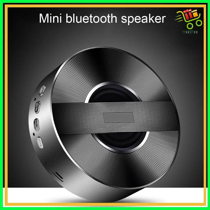 WIRELESS MINI BLUETOOTH Speaker / A5 PORTABLE Speaker MP3 Music Player With  AUX - GOLD / BLACK / SLIVER / PINK