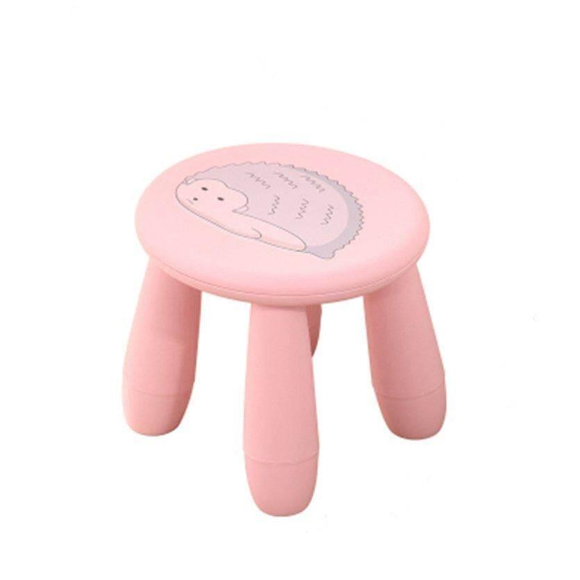 เช่าเก้าอี้ เชียงใหม่ OH น่ารักการ์ตูนสตูลเด็กสตูลแบบพกพาเก้าอี้พลาสติก Bench สำหรับ Home