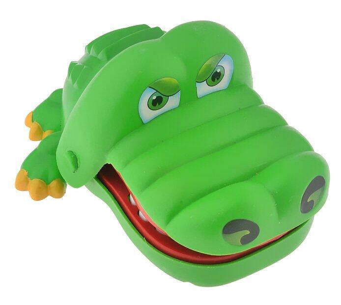 Crocodile Dentist Bite Finger