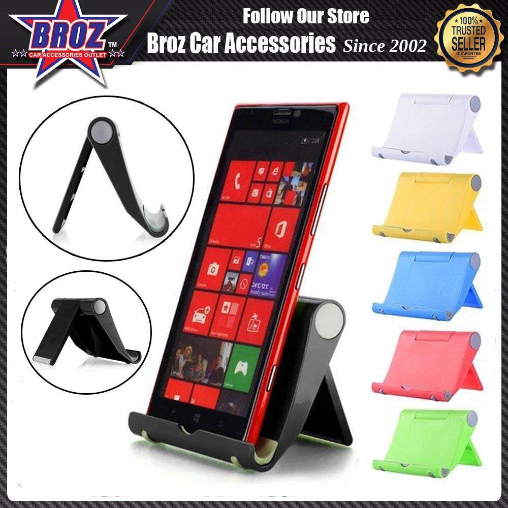 Flexible Folding Universal Cell Phone Tablet Stand Mount Phone Holder