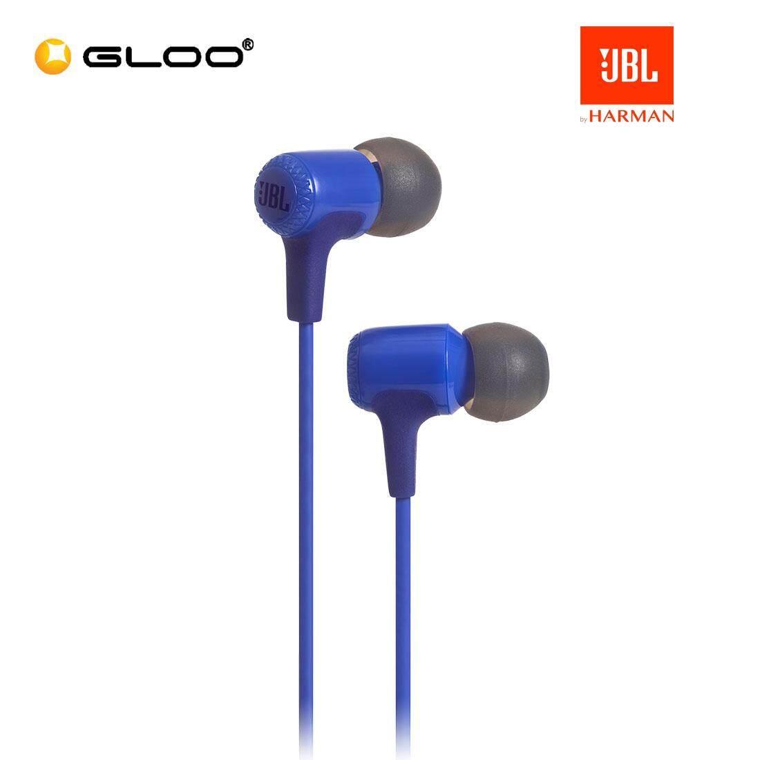 JBL E15 In-Ear Headphones (Black/Blue/Red/Teal)
